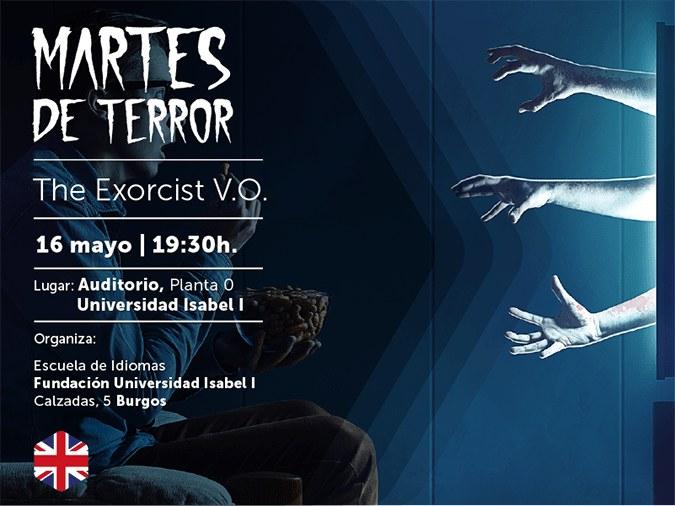 Lanzamos un ciclo de proyecciones de películas de terror en versión original, promovido por la Escuela de Idiomas Fundación Universidad Isabel I.