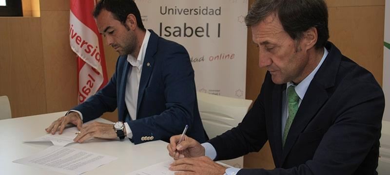 Acuerdo entre la Universidad Isabel I y el Colegio de Licenciados en Educación Física de Castilla y León