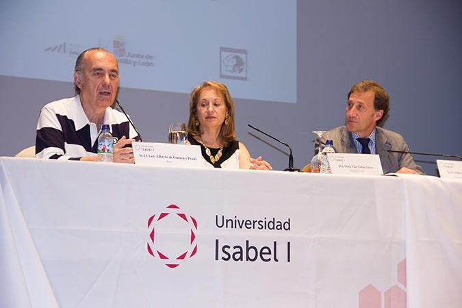 Luis Alberto de Cuenca, Pilar Celma y Alberto Gómez Barahona