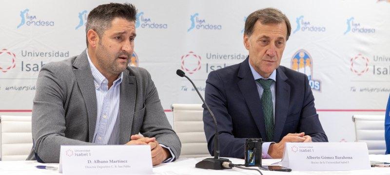 La Universidad Isabel I renueva su colaboración con el San Pablo