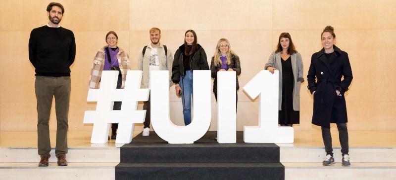 Profesores de la Universidad Isabel I y alumnos italianos del programa Eramus +