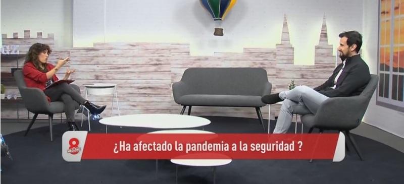 Víctor Rodríguez en el programa de La 8 Burgos analiza la criminalidad en este año de pandemia.