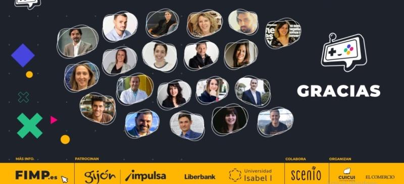 Composición de algunos de los ponentes del FIMP