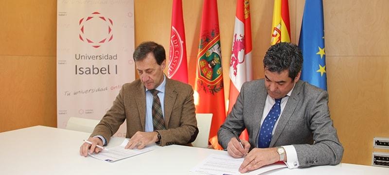 Ibermutuamur y la Universidad Isabel I firman un convenio de colaboración de prácticas académicas