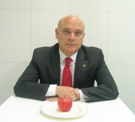 Aquilino García, profesor del Grado en Nutrición Humana y Dietética de la Universidad Isabel I