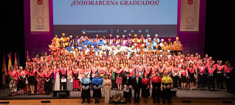 Tercera ceremonia de Graduación de la Universidad Isabel I