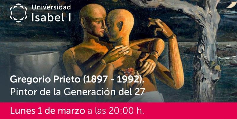 Gregorio Prieto, webinar de Javier García-Luengo