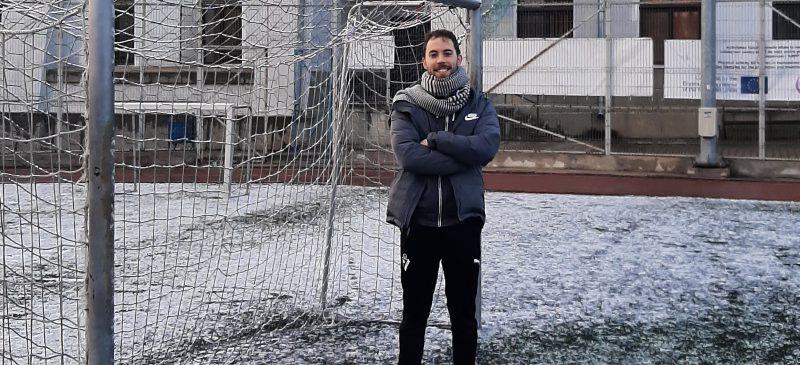 Guillermo Martín en la Univesidad  Alexandru Ioan Cuza