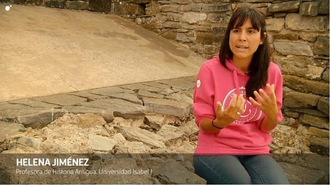 Helena Jiménez Vialás explica las peculiaridades de las figuras en Cuarto Milenio
