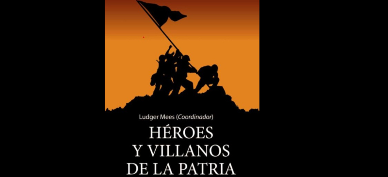 Portada del libro Héroes y Villanos de la patria