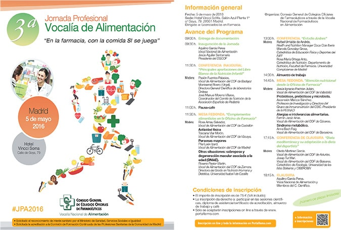 La Universidad Isabel I en la 3ª Jornada Profesional Vocalía de Alimentación