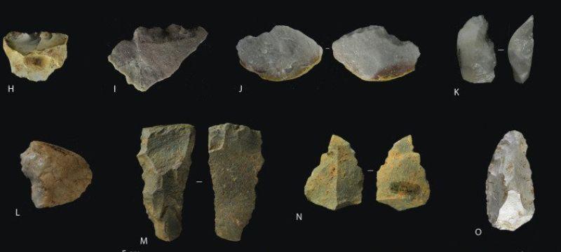 Fotografía publicada en la revista Journal of Human Evolution sobre el nivel TD10 del yacimiento de Gran Dolina de Atapuerca