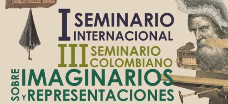 Portada del I seminario internacional de imaginarios y representaciones