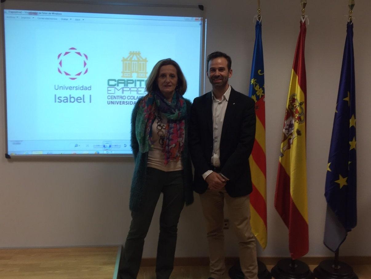 La Universidad Isabel I y Capitol Empresa acuerdan la apertura de un centro colaborador en Valencia