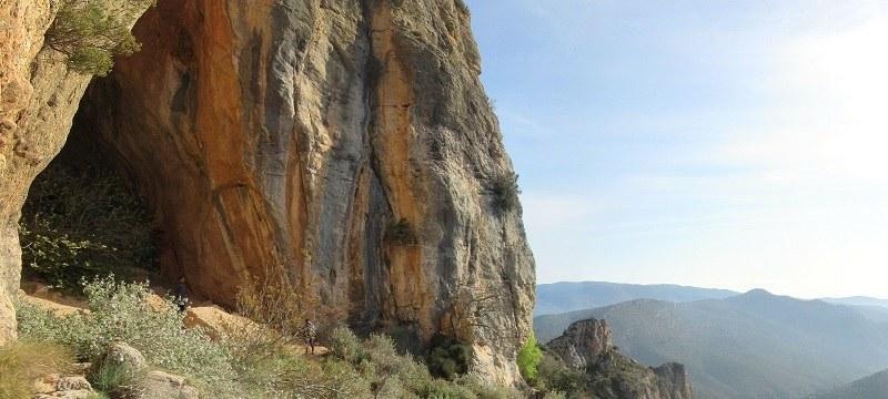 Cueva del Tabac en la que ha investigado Diego Arceredillo