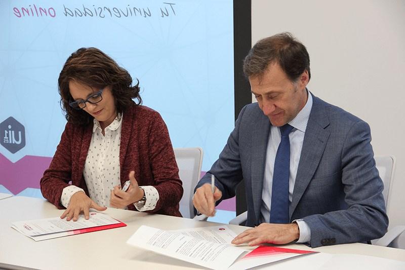 Firma con el Colegio de Periodistas de Castilla y León