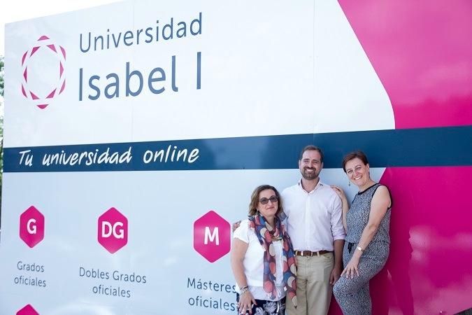 La Universidad Isabel I recibe a dos trabajadoras de la Universidad de Foggia dentro del programa europeo Erasmus Plus