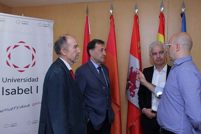 La Universidad Isabel inicia contactos con la Fundación Atlético de Madrid para futuros acuerdos de colaboración