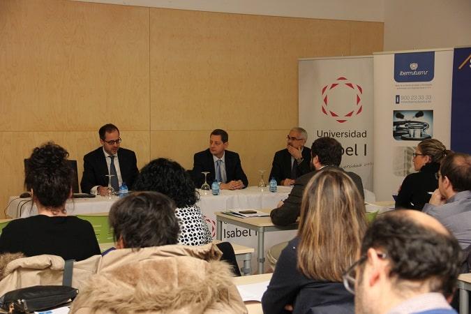 La Universidad Isabel I ha colaborado en la Jornada de Ibermutuamur sobre Novedades Jurisprudenciales en Materia Laboral y Accidentes de Trabajo.