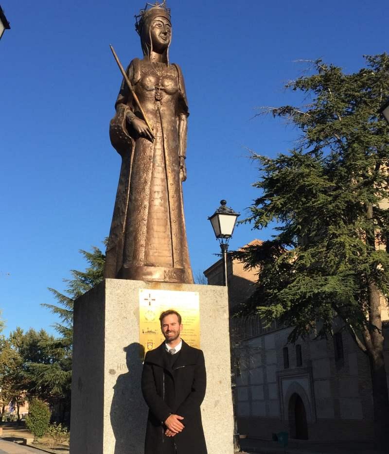 """El vicerrector de la Universidad Isabel I en el Aniversario de la muerte de la """"Reyna Isabel I de Castilla"""""""