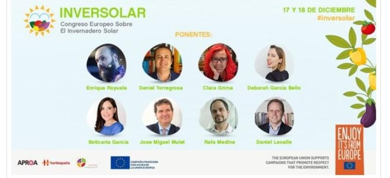 Marian García, una de las ponentes del congreso europeo de invernaderos solares