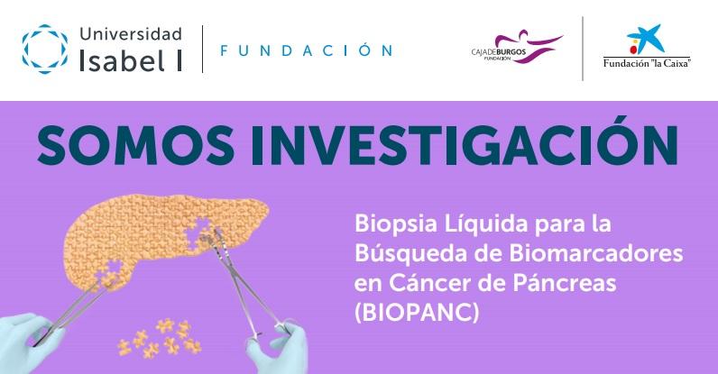 Investigación del cáncer de páncreas en la Universidad Isabel I