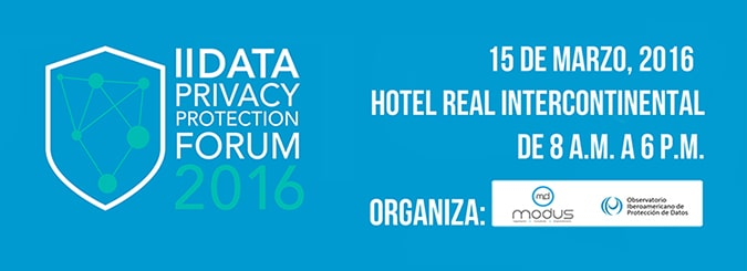 Elena Davara, profesora de la Universidad Isabel I, participa en el II Data Privacy Protection Forum 2016