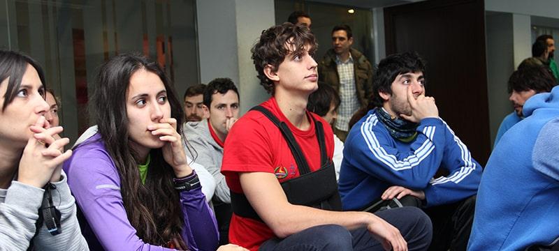 Alumnos procedentes de varios puntos de España y Europa asisten mañana en Burgos a unas Jornadas de la Universidad Isabel I