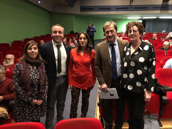 Laura Preciado, Alberto Romero, Natalia Rodriguez, Alberto Gómez Barahona y Susana Revuelta