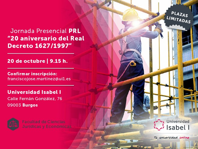 Universidad Isabel I, ui1, prl, master prl, prevencion riesgos laborales