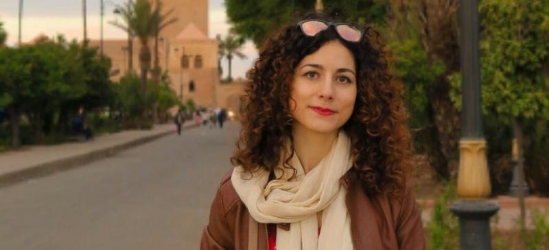 Nuria Corral Sánchez, profesora del Máster en Formación del Profesorado de la Universidad Isabel I en una visita en Sevilla