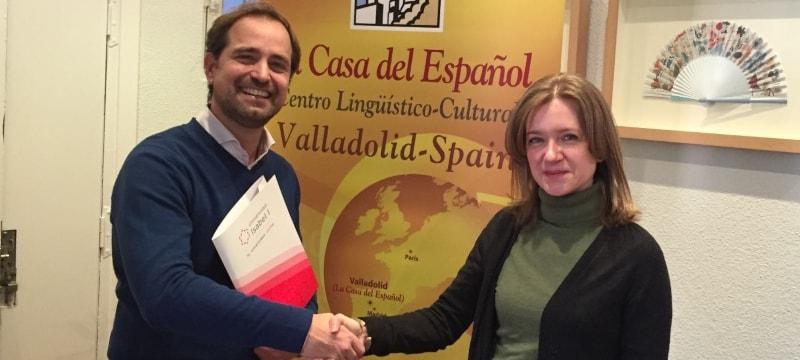 La Universidad Isabel I y La Casa del Español colaboran para potenciar Castilla y León como destino turístico lingüístico