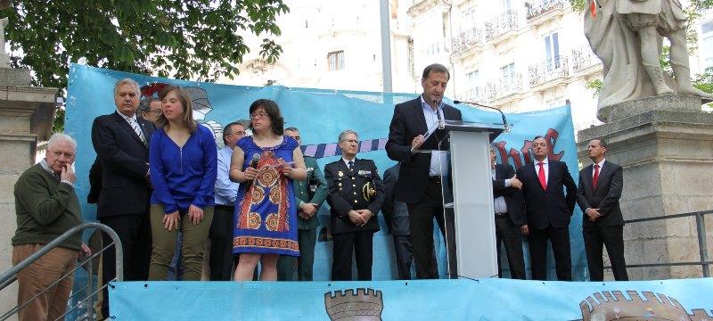El rector de la Universidad Isabel I participa en la lectura pública organizada por la Asociación Síndrome Down Burgos