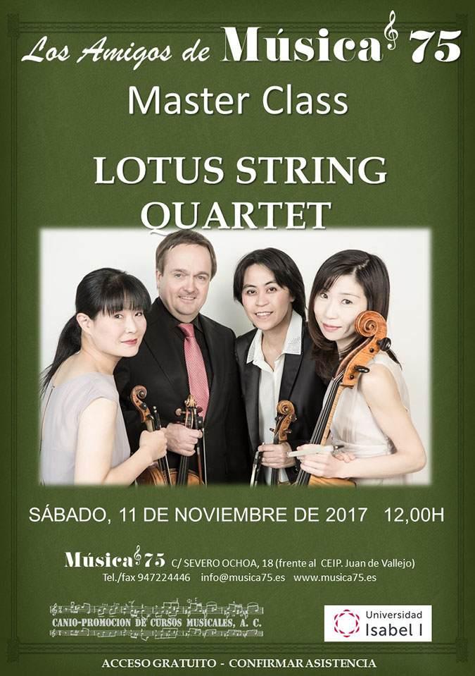 Cartel Master Class Lotus String Cuarter