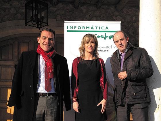 Luis Llaneza, Luisa Sanz, Juan Carlos Prieto