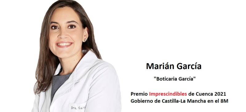 Marián García, premio Imprescindibles de Cuenca 2021.