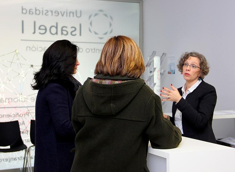 Jornada de Puertas Abiertas en la Escuela de Idiomas de la Fundación Universidad Isabel I