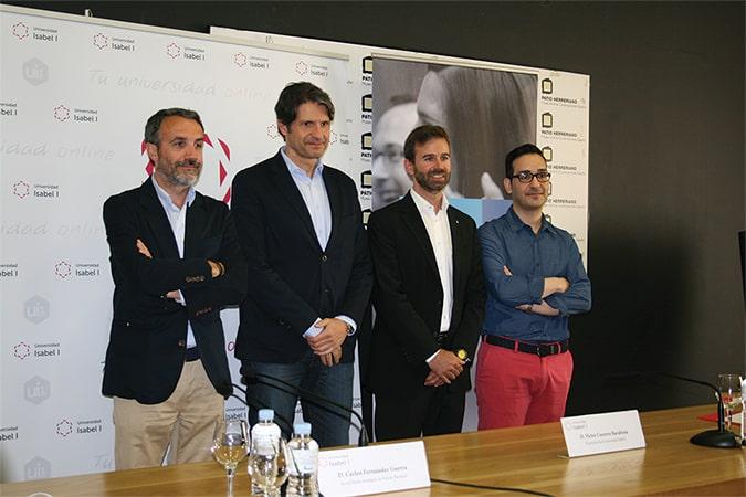 presentación del Máster en Marketing Digital y Redes Sociales en el Museo Patio Herreriano de Valladolid