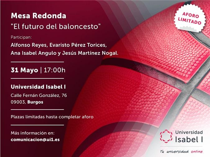 El futuro del baloncesto, a debate en la Universidad Isabel I