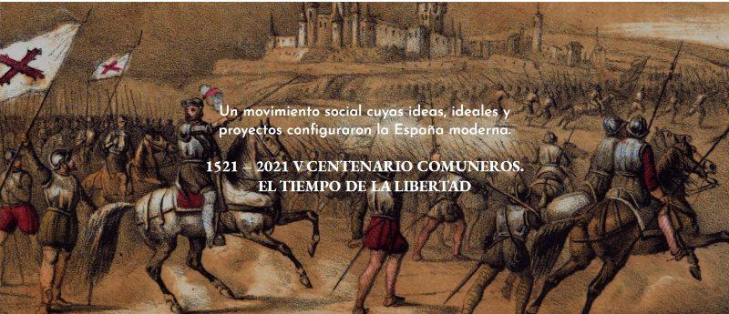 Imagen de la página web del Congreso V Centenario de los Comuneros