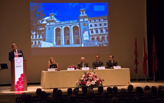 Acto de inauguración del curso académico 2013-2014