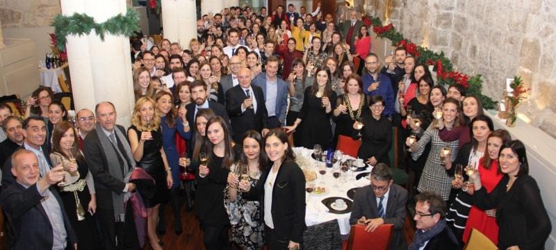 Comida de Navidad de la Universidad Isabel I