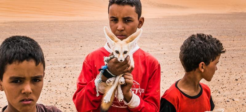 Niños en Marruecos