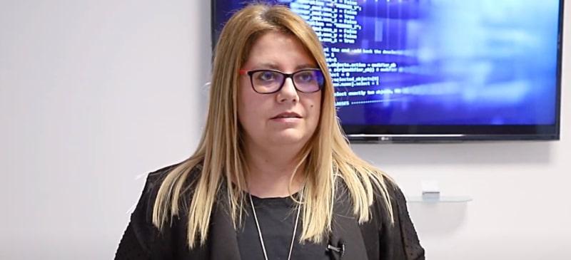 Noelia González Rodríguez, profesora del máster de Big Data de la Universidad Isabel I