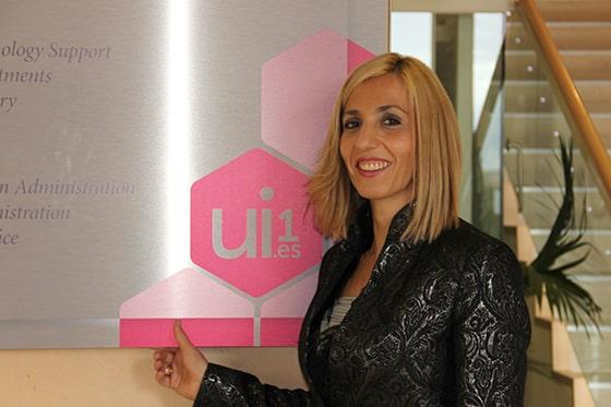 Olaia Abadía, vicerrectora de Ordenación Académica de la Universidad Isabel I