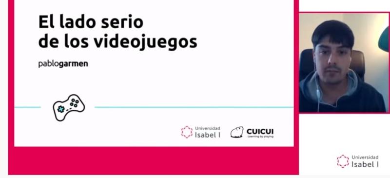 Pablo Garmen en el webinar