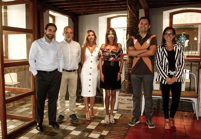 Los miembros de la Junta Directiva de Dircom Castilla y León en su última reunión