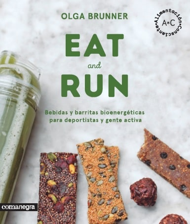 Ve la luz 'Eat and Run', el nuevo libro sobre nutrición de Olga Brunner, alumna de la Universidad Isabel I