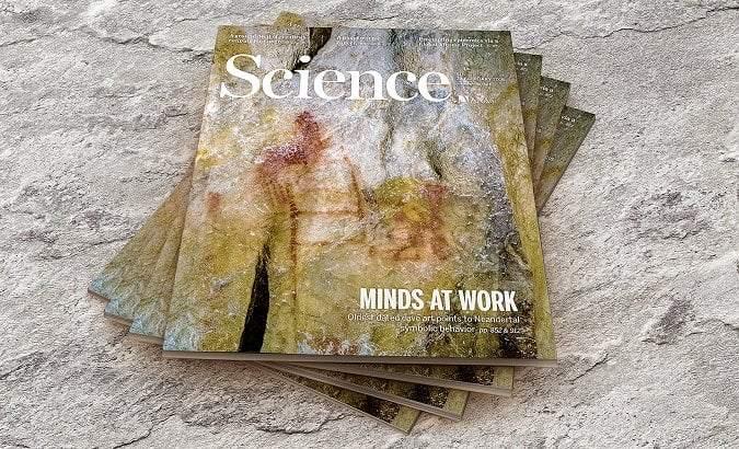 Portada de la revista Science con el estudio en el que participó la Universidad Isabel I