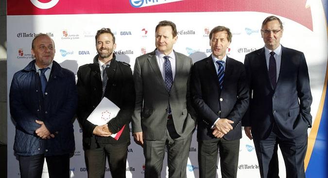 Representantes de la Universidad Isabel I, acuden a la VII Edición Premios Castilla y León Emprende del Norte de Castilla